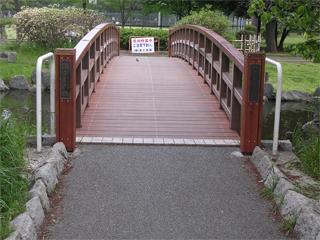 リニューアルした橋