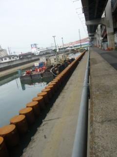 綾瀬川 堤防補強